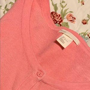 Ladies Large H&M Pink Cardigan💗